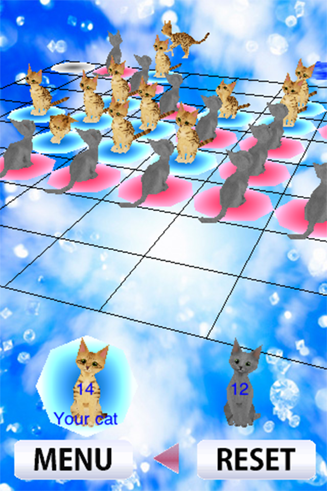 Screenshot Cats Reversi 3D