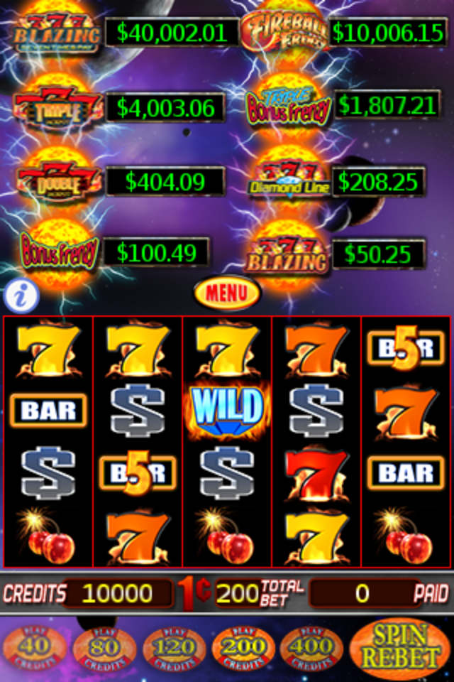 Screenshot Slot Machine – Fireball®